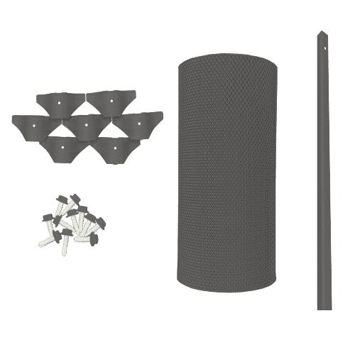 corrugation gutter guard kit